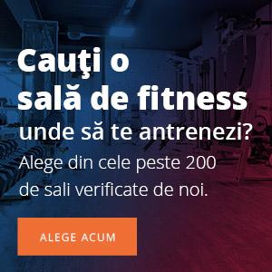 Sali fitness din Romania