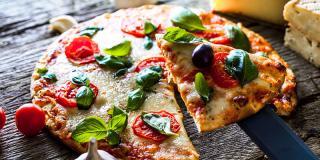 5 rețete de pizza cu puține calorii