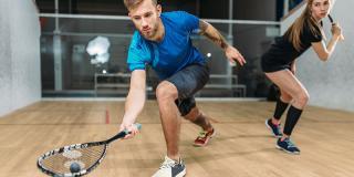 5 sfaturi despre cum să-ți îmbunătățești jocul de squash