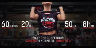 The New Generation of Heroes: cea mai tare competiție de crossfit