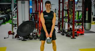 Kettlebell training: The Squat