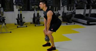 Kettlebell training: Romanian Deadlifts