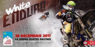 White Enduro 2017: adrenalină la cea mai cool competiție de motorbike pe zăpadă