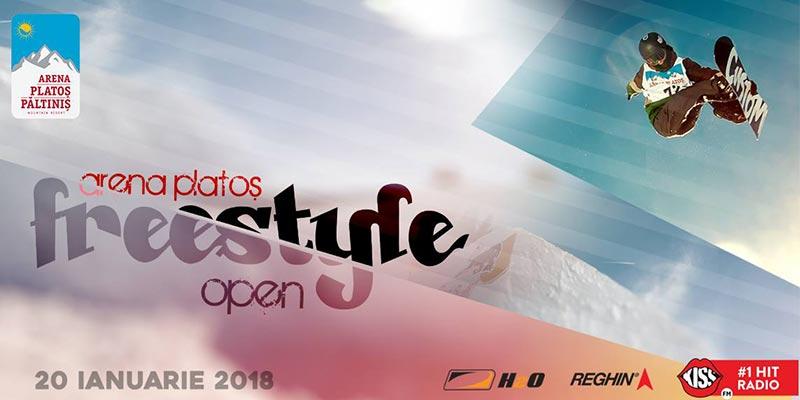Freestyle Open 2018: competiția preferată a pasionaților de snowboard și freeski