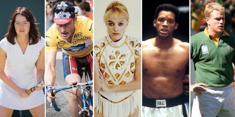 Transformări spectaculoase: 10 actori care au jucat rolul unor sportivi reali