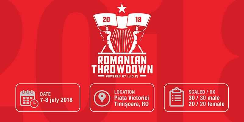 Romanian Throwdown by USC: super-provocare pentru cei puternici