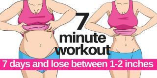 Workout pentru acasă: 7 minute și 7 zile ca să scapi de grăsimea de pe burtă