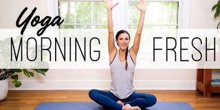 Yoga de dimineață: workout-ul de care ai nevoie ca să începi ziua cum trebuie