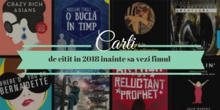UPfit Book Club: 11 cărți pe care să le citești în 2018, înainte să vezi filmul
