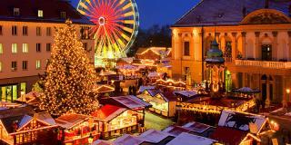 8 târguri de Crăciun pe care să le vizitezi în acest sezon
