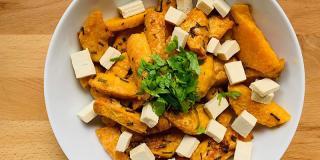 Rețeta FIT: cartofi dulci la cuptor