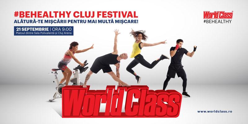 #BeHealthy Cluj Festival: alătură-te mișcării pentru mai multă mișcare
