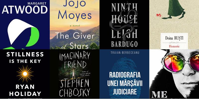 UPfit Book Club: cele mai așteptate cărți din această toamnă