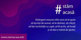 #Stămacasă.info – locul în care găsești toate resursele de care ai nevoie în carantină