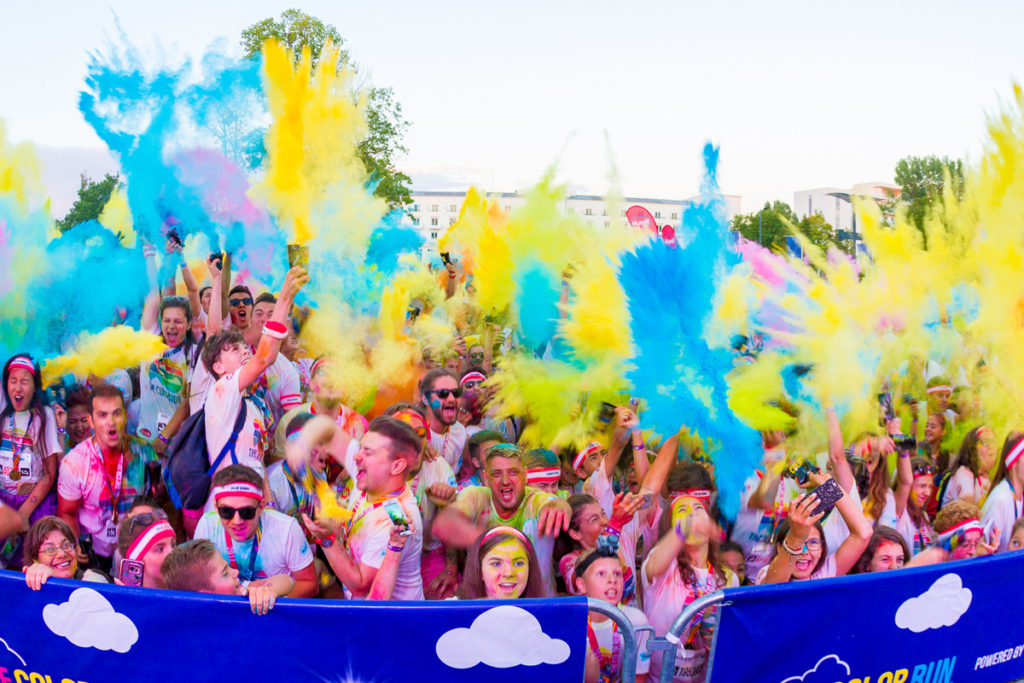 The Color Run Bucuresti Day